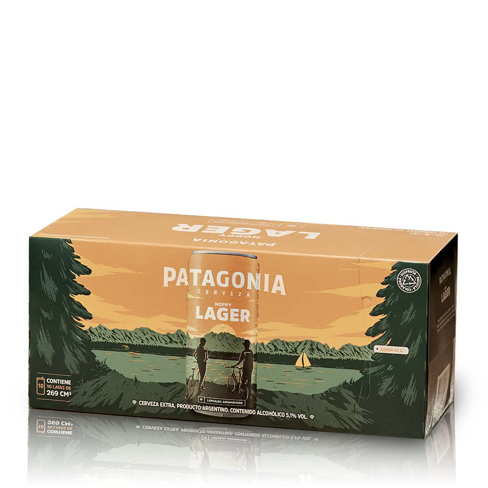 Pack: 10 Patagonia Hoppy Lager