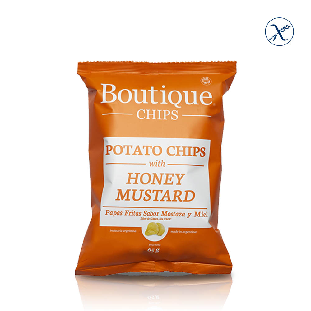 Boutique Chips Honey Mustard SIN TACC